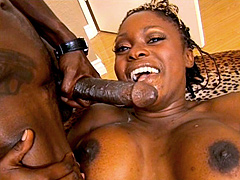 Coco Pink is the type of fat african slut that loves to sex. This girl craves for big black dicks with balls full of juice. Coco Pink sucks and slobbers until she tells guy to jack off in front of her. As she coaxes him to cum, she is finally splattered i
