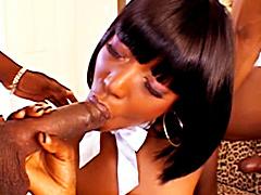 Young black slut Taylor Starr gets..