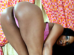 Chocolate skinned MILF riding dick like a champ at home. Tyler Knight, Sandi Jackman