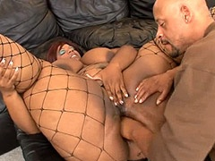 Big African curve hardcore fucked and getting hot creampie