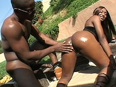 Huge niggas dong banged chubby ebony..
