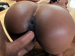 Big boobs ebony slut big cock fucked..