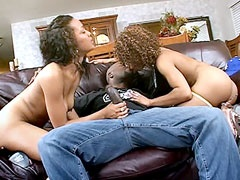 Two housewifes, sexual ebony babes,..