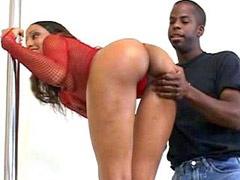 Gigantic african cock banged ebony..