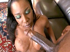Desired black mom with big tits gets..