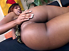 Ebony porn star, Lauren Foxxx porn video