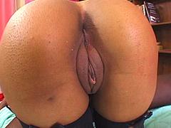 Famous ebony pornstar Alicia Tyler,..