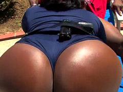 Famous ebony pornstar Skyy Black, tube..
