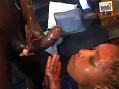 Huge nigga dick drilling cunt ebony..