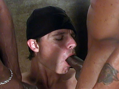 Flex spent some time in the amateur body building circuit until he got caught doing naughty things in an..