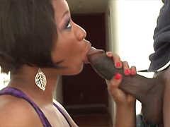 Black girl Imani Rose fucks with her ??lover so hard
