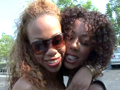 Melrose Foxxx and Misty Stone are the most popular porn stars. All fans of black girls like Melrose and Misty . In this video you'll see these two porn stars at once. We were lucky today, so get pleasure, these girls a goddesses.