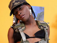 Nila is a beautiful 19 year old ebony..