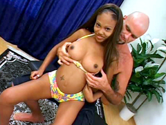 This lucky man will be fuck busty black teenager today! Lacey Duvalle has phenomenal perfect ebony..