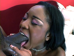 This perverse black whore Amile Waters..