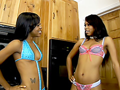 Black dyke asses cum in the living room. Vanessa Monet & Lil Baby