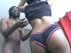 Ebony cheerleader Stacey Cash suck cocking all day long