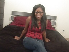 Amber Stars is an ebony beauty with..