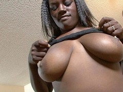 There are very few girls out there who can suck a cock while her breasts are still enveloping it, and Sierra Lust is one of them! Not only does she have a pair of marvelous fun bags, she also has a big butt with thick cheeks that jiggle as she rides up and down on a bone. Watch this voluptuous sex goddess in action here.