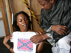 White Rednecks Bukkake Hot Black Girl Interracial. Coffee Brown