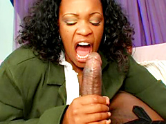 Big ass ebony mature with curly hair suck big rog and ride it