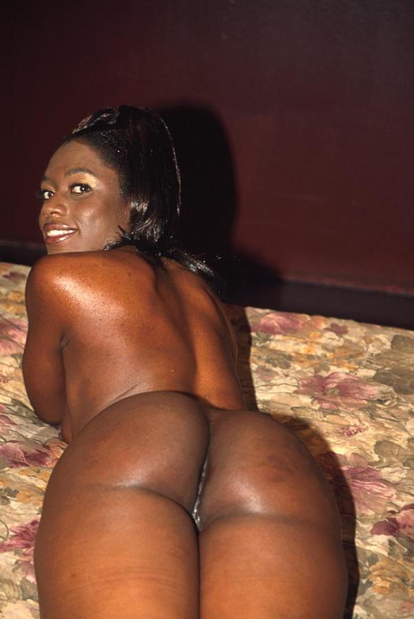 Ghetto black girl nude self