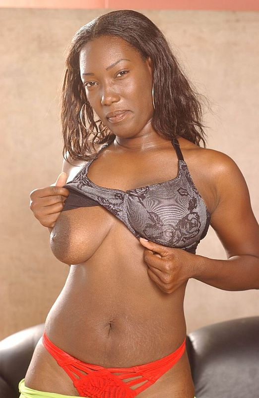 Big Dark Nipples Masturbates