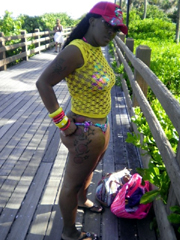 Photo gallery of an amateur sexy hot ebony chick's selfpics