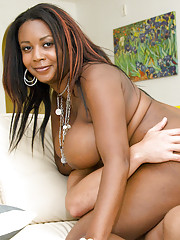 Black MILF Aileen Ghettman gets the brush shaved pussy hammered hardcore