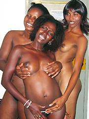 Ebony lesbian pics. See more black hotties!