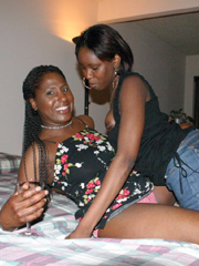 Real ebony wives with big boobs and perfect bodies