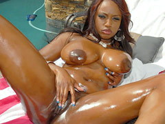 Jada fire has the hottest big black ass ive ever seen and shes rockin it here in these hot mpgs...