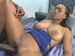 This pig wants to fill all the cracks in this dirty whore's body, sliding his cock into her tight..