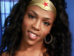 Heather Hung as Wonder Woman