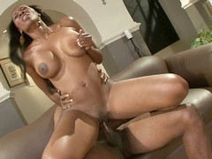 Nyomi Banxxx Has her lover Lee Bang over for a booty call and wears her sexy lingerie to get the..
