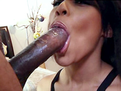 Leilani Leeane knows exactly what to do huge black cock of her boyfriend! She bend over and..
